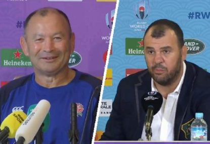 'They'd better win': Cheika puts the pressure back on Jones