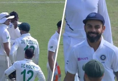 'Another nail in the coffin': SA spinner's bewildering blunder lets Virat Kohli off the hook