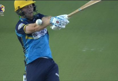 New Adelaide Strikers recruit cops horror caught behind call in the CPL final