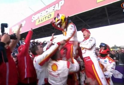 The dramatic finish that saw Scott McLaughlin win the 2019 Bathurst 1000