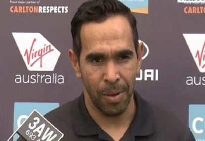 'I almost started crying': Eddie Betts' 'fairy tale' homecoming to Carlton