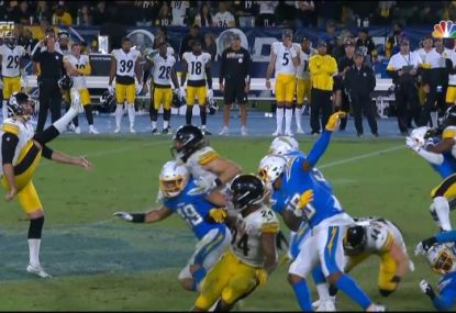 Aussie's perfect punt helps seal Steelers win