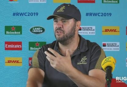 Cheika discusses the Wallabies chances against England