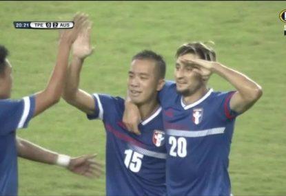 Chinese Taipei stun Australia with classy first-half goal