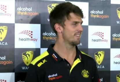 Mitch Marsh admits he is long odds for start of Test series