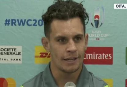 Matt Toomua hilariously reveals England stars' 'weaknesses'