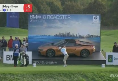 Oh so close! Golfer's near miss costs him a new BMW