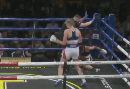 Tayla Harris sends statement with stunning second round KO