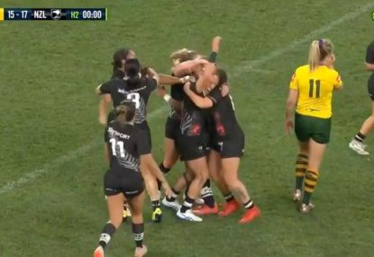 Kiwi Ferns win Womens Nines in epic battle with Jillaroos