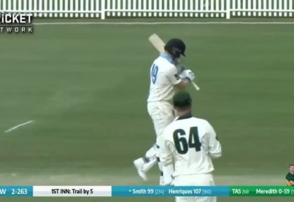 Steve Smith notches 41st First-Class ton against Tasmania