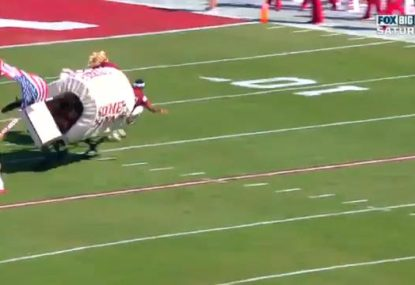 College Football team's elaborate TD celebration backfires spectacularly