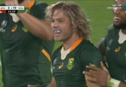 Springboks go on a late scoring spree to crush Japanese hearts