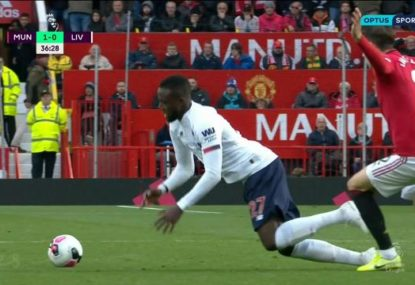 Liverpool salvage a draw but should Man U's goal have been disallowed?