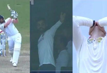 Indian tailender's six-hitting frenzy delights Virat Kohli