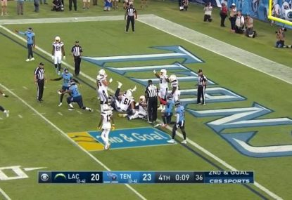 The LA Chargers somehow conjure defeat in the most brutal way imaginable