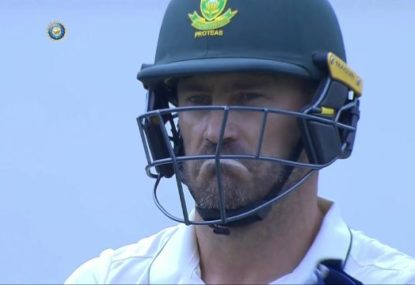 Faf du Plessis castled by Indian quick's unplayable peach
