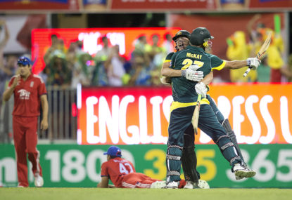 Remembering James Faulkner's finishing heroics, and the 35th-best match in the last 50 years of Australian cricket