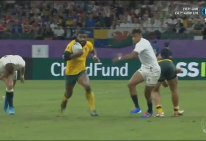 Marika Koroibete brilliance gives the Wallabies the perfect start to the second half