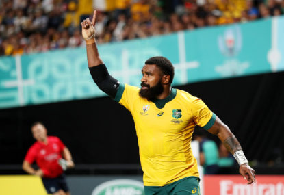 Marika Koroibete used the Fijian war dance to motivate himself at the World Cup