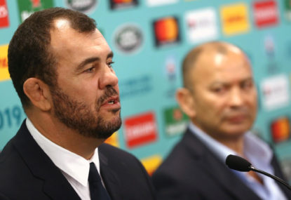 A Wallabies Rugby World Cup quarter-final against England: Dream or nightmare for Michael Cheika?