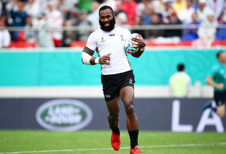 Semi Radradra playing for Fiji