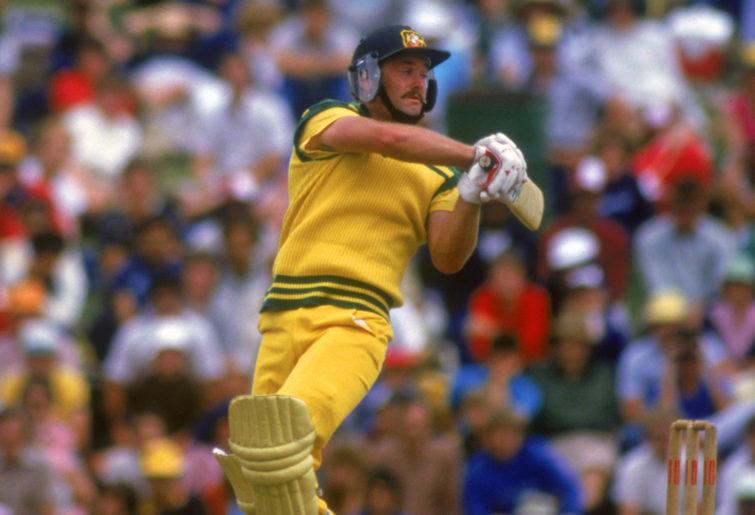 1980s Australian cricketer Steve Barry Smith