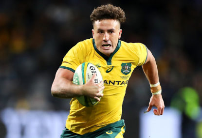 Tom Banks busting his way into Wallaby gold
