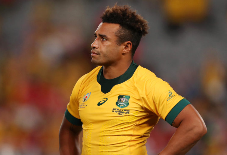 Will Genia after a crucial Rugby World Cup loss