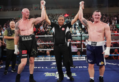 WATCH: Gallen vs Hall ends in controversial result