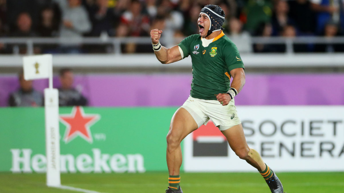 Springboks make two enforced changes for final TRC Test but Kolbe falls short