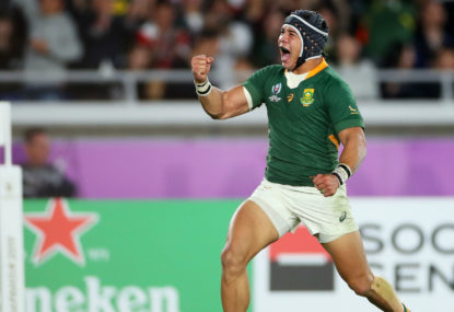 The Springboks attack surgically dissected