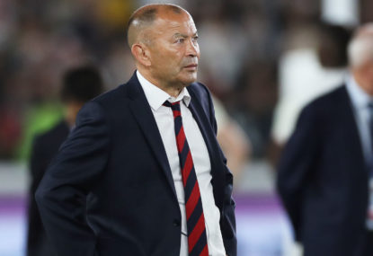 England rugby coy on Eddie Jones' future