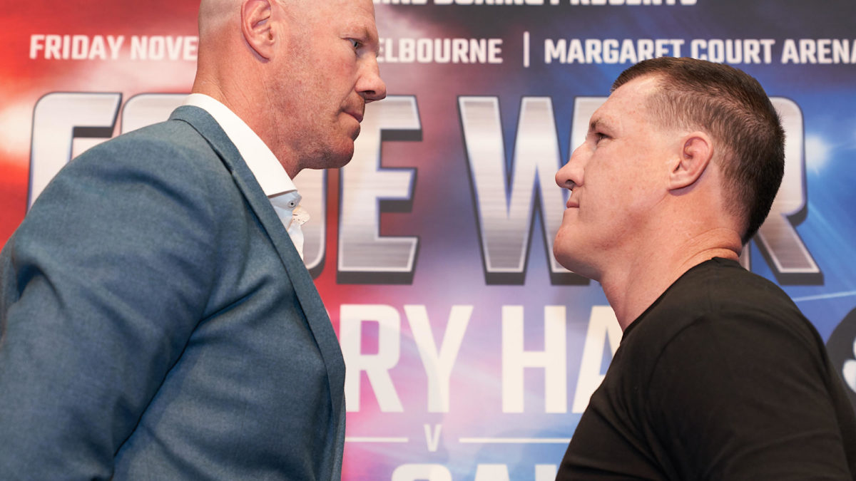 Paul Gallen vs Barry Hall live stream, TV guide: How to watch the battle of the codes online or on TV