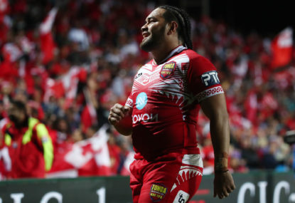 Tonga end a three-generation wait for Australia's challengers