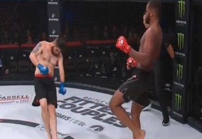 21-year-old phenom's 16-second headkick KO at Bellator 233