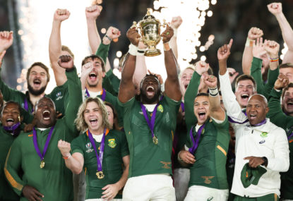 Springboks, Hamilton and Messi win big at Laureus awards
