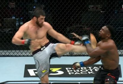 Russian's crazy KO at UFC Moscow