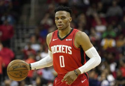 Three trade destinations for Russell Westbrook
