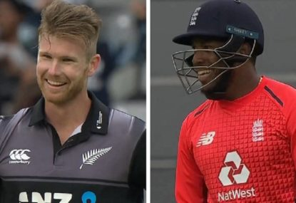 Insane finish sees NZ and England recreate the World Cup final
