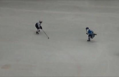 Real life Mighty Duck kid dominates ice hockey