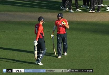 Jonny Bairstow saves young teammate from early dismissal