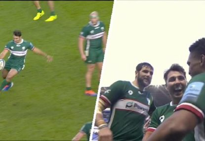 Perfect Phipps crossfield kick sets up Naholo's sensational first try for London Irish