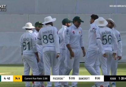Pakistan bowlers rampage through Australia A top order