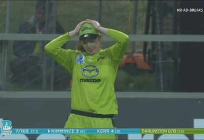 Sydney Thunder gift another lifeline to Heat after catching nightmare
