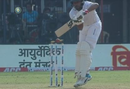 Brutal Umesh Yadav delivery sums up India's dominance over Bangladesh in First Test