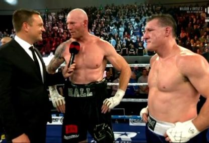 Barry Hall calls out Paul Gallen's 'hollow' post-Code War act