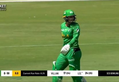 WBBL batter inexplicably given out off the most obvious no ball