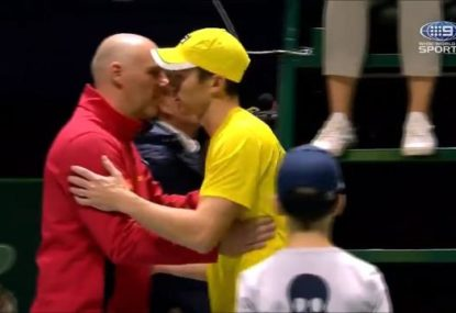 Bizarre moment as Aussie doubles pair retire from match after just one game