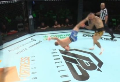 Former UFC fighter rocked by incredible 'rolling thunder' KO