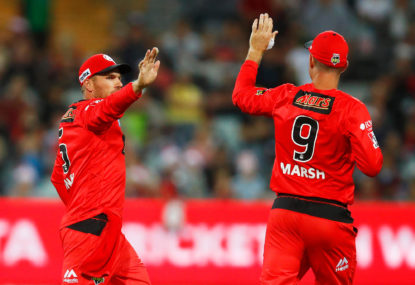 Sixers have the edge in BBL finals: Finch